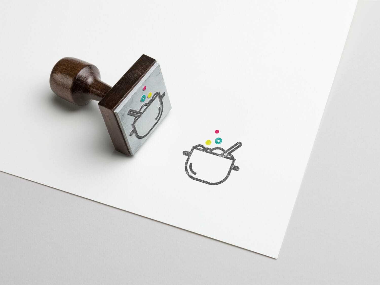 Panoramix Loula stamp